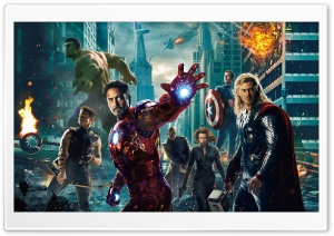 The Avengers Ultra HD Wallpaper for 4K UHD Widescreen desktop, tablet & smartphone