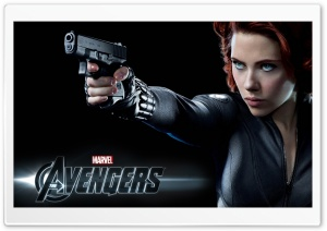 The Avengers (2012) - Black Widow HD Wide Wallpaper for Widescreen
