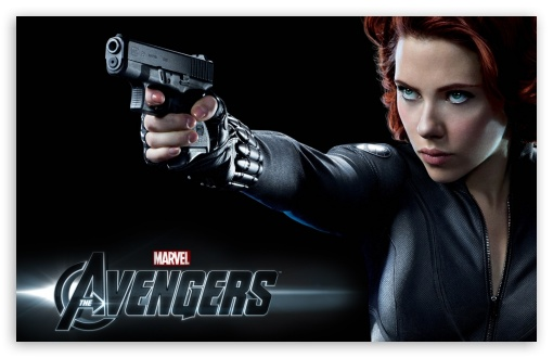 The Avengers (2012) - Black Widow HD wallpaper for Wide 16:10 5:3 Widescreen WHXGA WQXGA WUXGA WXGA WGA ; HD 16:9 High Definition WQHD QWXGA 1080p 900p 720p QHD nHD ; iPad 1/2/Mini ; Mobile 4:3 5:3 3:2 16:9 - UXGA XGA SVGA WGA DVGA HVGA HQVGA devices ( Apple PowerBook G4 iPhone 4 3G 3GS iPod Touch ) WQHD QWXGA 1080p 900p 720p QHD nHD ;