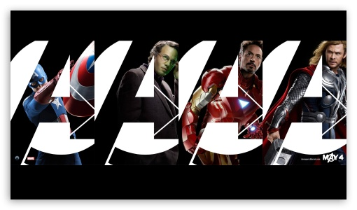 The Avengers (2012) - Join HD wallpaper for HD 16:9 High Definition WQHD QWXGA 1080p 900p 720p QHD nHD ; Mobile PSP - Sony PSP Zune HD Zen ;