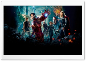 The Avengers (2012) - Resurrection HD Wide Wallpaper for Widescreen