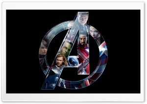 The Avengers (2012) - Symbol of Hope HD Wide Wallpaper for Widescreen