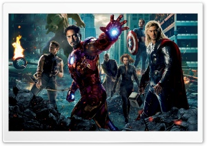The Avengers 2012 Movie HD Wide Wallpaper for Widescreen