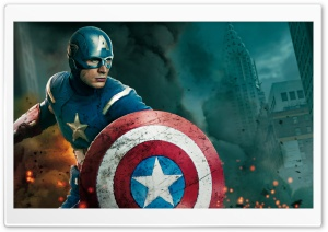The Avengers - Captain America and Thor HD Wide Wallpaper for Widescreen