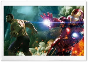 The Avengers - Hulk and Ironman HD Wide Wallpaper for Widescreen