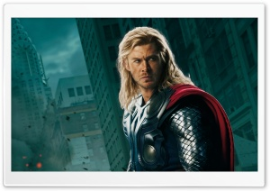 The Avengers - Thor and Captain America HD Wide Wallpaper for Widescreen
