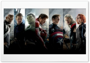 The Avengers Age of Ultron Team HD Wide Wallpaper for Widescreen