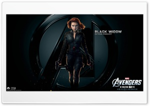 The Avengers Black Widow HD Wide Wallpaper for 4K UHD Widescreen desktop & smartphone