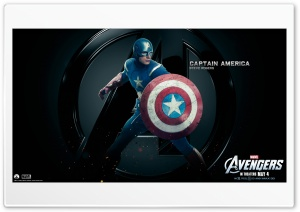 The Avengers Captain America HD Wide Wallpaper for Widescreen
