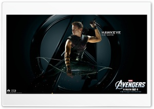 The Avengers Hawkeye HD Wide Wallpaper for Widescreen