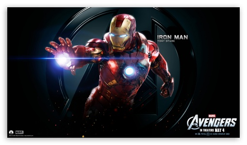 The Avengers Iron Man HD wallpaper for HD 16:9 High Definition WQHD QWXGA 1080p 900p 720p QHD nHD ; Mobile 16:9 - WQHD QWXGA 1080p 900p 720p QHD nHD ;