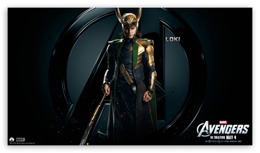 The Avengers Loki HD wallpaper for HD 16:9 High Definition WQHD QWXGA 1080p 900p 720p QHD nHD ; Mobile 16:9 - WQHD QWXGA 1080p 900p 720p QHD nHD ;