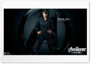 The Avengers Maria Hill HD Wide Wallpaper for Widescreen
