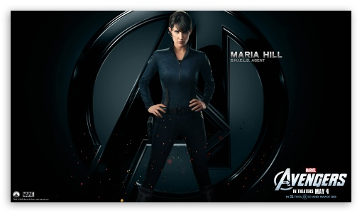 The Avengers Maria Hill HD wallpaper for HD 16:9 High Definition WQHD QWXGA 1080p 900p 720p QHD nHD ; Mobile 16:9 - WQHD QWXGA 1080p 900p 720p QHD nHD ;