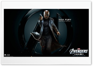 The Avengers Nick Fury HD Wide Wallpaper for 4K UHD Widescreen desktop & smartphone