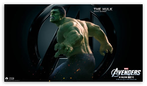 The Avengers The Hulk HD wallpaper for HD 16:9 High Definition WQHD QWXGA 1080p 900p 720p QHD nHD ; Mobile 16:9 - WQHD QWXGA 1080p 900p 720p QHD nHD ;