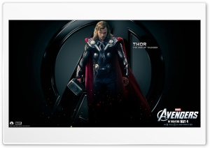 The Avengers Thor HD Wide Wallpaper for Widescreen