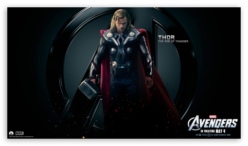 The Avengers Thor HD wallpaper for HD 16:9 High Definition WQHD QWXGA 1080p 900p 720p QHD nHD ; Mobile 16:9 - WQHD QWXGA 1080p 900p 720p QHD nHD ;