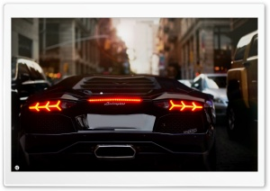 The Aventador HD Wide Wallpaper for Widescreen
