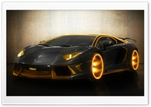 The Aventador Wallpaper of Dennis Saliasi (Modified by Aarif) HD Wide Wallpaper for Widescreen