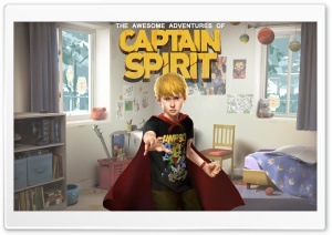 The Awesome Adventures of Captain Spirit HD Wide Wallpaper for 4K UHD Widescreen desktop & smartphone