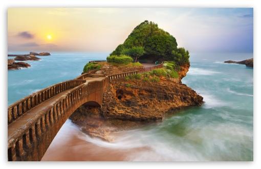 Download The Basta Rock Sunrise 4K HD Wallpaper