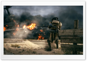 The Battlefield Soldier HD Wide Wallpaper for Widescreen