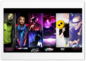 The Best DJ's HD Wide Wallpaper for Widescreen