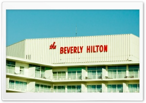 The Beverly Hilton HD Wide Wallpaper for 4K UHD Widescreen desktop & smartphone