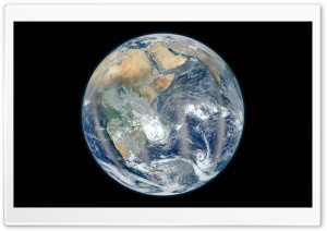 The Blue Marble   Eastern Hemisphere HD Wide Wallpaper for Widescreen