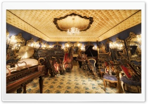 The Blue Room, House On The Rock, Wisconsin HD Wide Wallpaper for Widescreen