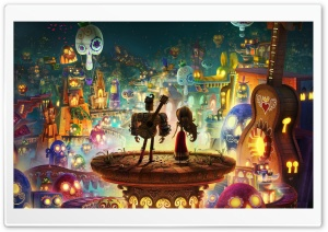 The Book of Life 2014 HD Wide Wallpaper for 4K UHD Widescreen desktop & smartphone