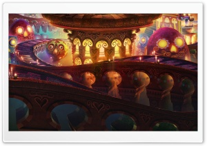 The Book of Life 2014 FIlm HD Wide Wallpaper for 4K UHD Widescreen desktop & smartphone