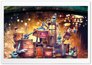 The Boxtrolls Characters 2014 Movie HD Wide Wallpaper for Widescreen