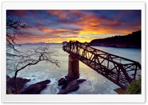 The Bridge To Nowhere HD Wide Wallpaper for 4K UHD Widescreen desktop & smartphone