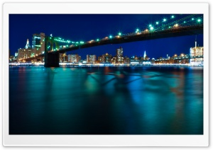 The Brooklyn Bridge Ultra HD Wallpaper for 4K UHD Widescreen desktop, tablet & smartphone