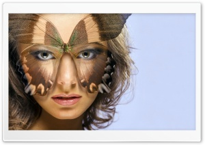 The Butterfly Mask HD Wide Wallpaper for Widescreen