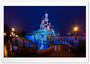 The Castle of The Beauty Sleeping in the Wood HD Wide Wallpaper for Widescreen