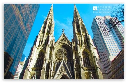 The Cathedral of St Patrick, New York City HD wallpaper for Wide 16:10 5:3 Widescreen WHXGA WQXGA WUXGA WXGA WGA ; HD 16:9 High Definition WQHD QWXGA 1080p 900p 720p QHD nHD ; Standard 4:3 5:4 3:2 Fullscreen UXGA XGA SVGA QSXGA SXGA DVGA HVGA HQVGA devices ( Apple PowerBook G4 iPhone 4 3G 3GS iPod Touch ) ; iPad 1/2/Mini ; Mobile 4:3 5:3 3:2 16:9 5:4 - UXGA XGA SVGA WGA DVGA HVGA HQVGA devices ( Apple PowerBook G4 iPhone 4 3G 3GS iPod Touch ) WQHD QWXGA 1080p 900p 720p QHD nHD QSXGA SXGA ;