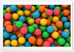 The Color of Candies HD Wide Wallpaper for Widescreen