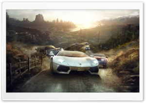 The Crew 2014 HD Wide Wallpaper for Widescreen