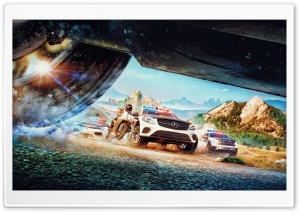 The Crew 2 Chase HD Wide Wallpaper for Widescreen