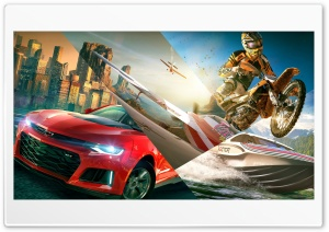 The Crew 2 Video Game 2018 HD Wide Wallpaper for 4K UHD Widescreen desktop & smartphone