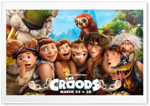 The Croods HD Wide Wallpaper for Widescreen