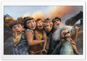 The Croods 2 HD Wide Wallpaper for Widescreen