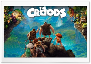 The Croods (2013) HD Wide Wallpaper for Widescreen