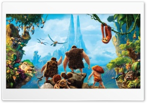 The Croods 2013 Movie HD Wide Wallpaper for 4K UHD Widescreen desktop & smartphone