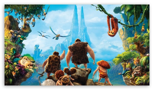 The Croods 2013 Movie ❤ 4K UHD Wallpaper for 4K UHD 16:9 Ultra High Definition 2160p 1440p 1080p 900p 720p ; Tablet 1:1 ; Mobile 5:3 3:2 16:9 - WGA DVGA HVGA HQVGA ( Apple PowerBook G4 iPhone 4 3G 3GS iPod Touch ) 2160p 1440p 1080p 900p 720p ;