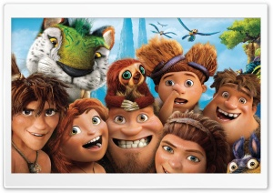 The Croods Characters HD Wide Wallpaper for 4K UHD Widescreen desktop & smartphone
