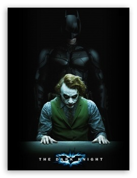 The Dark Knight HD wallpaper for Mobile 4:3 - UXGA XGA SVGA ;
